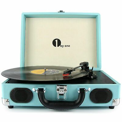 AU139.99 • Buy 1byone Wireless USB Turntable Vintage Record Player Vinyl-to MP3 Nature Wood