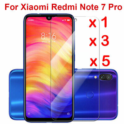 $0.75 • Buy For Xiaomi Redmi Note 7 Tempered Glass Screen Protector Protection Clear Sl