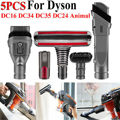 5pcs Accessories Vacuum Brush Head FOR Dyson V6 DC35 45 52 58 59 62 63 Absolute • 10.99£