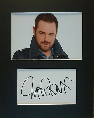£19.99 • Buy Danny Dyer 'Eastenders', Hand Signed Mounted Autograph.