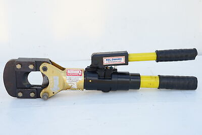 £609.37 • Buy Reliable USA REL-2000-MC Portable Hydraulic Cable Cutter 50mm-CU 19mm-Rebar 443