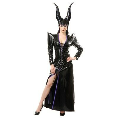 $ CDN25.08 • Buy Malificent Costume Adult Sexy Sorceress Halloween Fancy Dress