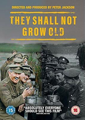 $21.81 • Buy They Shall Not Grow Old [DVD] [2018][Region 2]