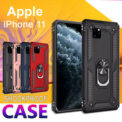AU6.99 • Buy For Apple IPhone 12 Mini 11 Pro Max Heavy Duty Case Rugged Magnetic Ring Cover