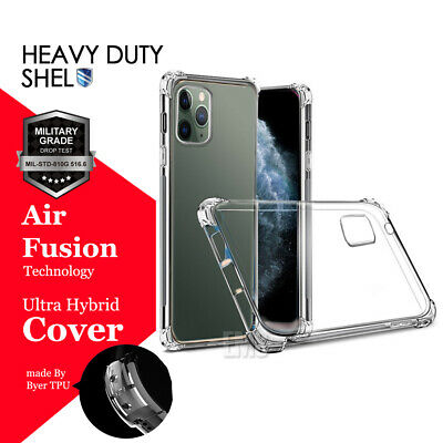 AU4.99 • Buy For Apple IPhone 12 11 Pro Max 6 6S 7 8 Plus Soft Clear Heavy Duty Case Cover
