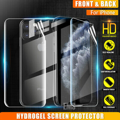 AU5.99 • Buy IPhone 12 Mini 11 Pro Max XR X XS 8 7 Plus Full Cover Screen Protector For Apple