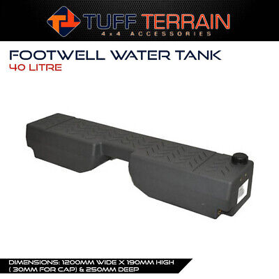 AU189.99 • Buy Poly Footwell Water Tank 40L Litre 4WD Wagon Ute 4X4 Offroad Touring Camping