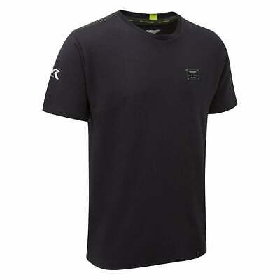 Aston Martin Racing Team Travel T-Shirt A14 2019 Navy ADULT Free UK Ship • 34£