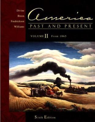 $3.71 • Buy  America, Past And Present By Divine, Robert A.