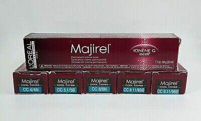 $11.95 • Buy LOreal Majirel COOL COVER Ionene G Incell Hair Color 1.7oz  *Choose Shade*