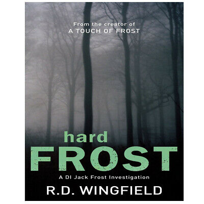 Hard Frost: (DI Jack Frost Book 4) By R D Wingfield Paperback NEW • 10.99£
