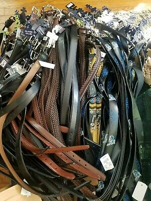 $999 • Buy Lot 500 Huge Collection Of Assorted Leather Belt All NWT