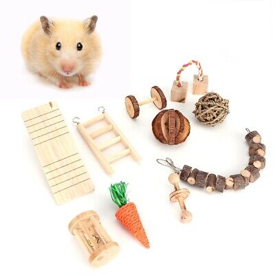 £15.36 • Buy Pets Hamster Hanging Swing Toy Seesaw/Climbing Ladder/Ball Guinea Pig Cage Toys