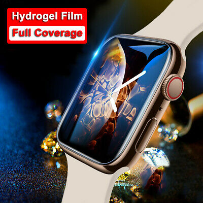 $ CDN3.95 • Buy For Apple Watch IWatch 5/4/3/2/1 38/42/40/44mm Screen Protectors Soft 1/2/5 PCS
