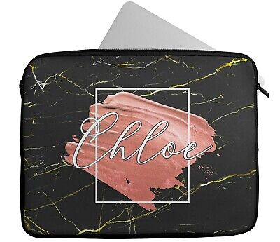 £15.99 • Buy Personalised Any Name Paint Design Laptop Case Sleeve Tablet Bag Chromebook 6