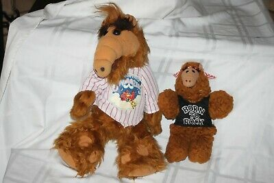 Vintage ALF Alien Plush 18  Doll By Coleco 1986 - Wearing Pajama Shirt + Puppet • 28.79$