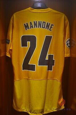 Brand New Official Arsenal GK 2012/13 Player Issue MANNONE Champions League • 160£