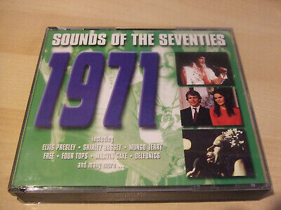 SOUNDS OF THE SEVENTIES: 1971 - Various Artists 1970s 70s  3 CD Readers Digest • 39£