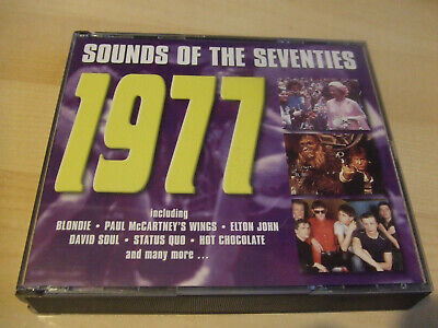 SOUNDS OF THE SEVENTIES: 1977 - Various Artists 1970s 70s  3 CD Readers Digest • 15£