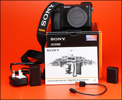View Details Sony A6500 DSLR Mirrorless Camera, With Battery, Charger & Box Only 8,355 Shots  • 550.00£