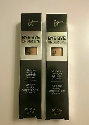 $13.95 • Buy IT Cosmetics Bye Bye Under Eye Waterproof Concealer Size 0.40 Oz Choose Shade