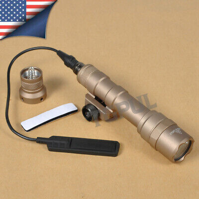$37.99 • Buy Tactical M600B Scout Light Hunting LED Weapon Light W/ Tail Switch Controller US