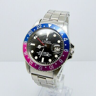 $ CDN59859.92 • Buy Rolex GMT Master 1675 Long E  MK1 With Box And Papers 1971 Fuchsia Pepsi