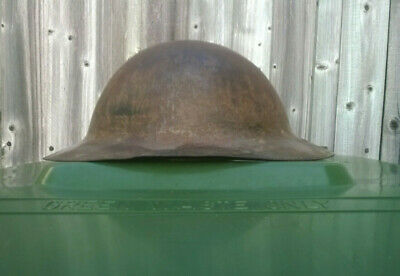 WW1 Model A / British Army War Office Pattern Brodie Helmet. RAW EDGE. • 450£