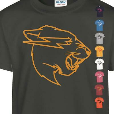 Mr Beast Kids T-shirt Big Cat Face Inspired Youtube Channel Logo Tee Gift • 5.99£