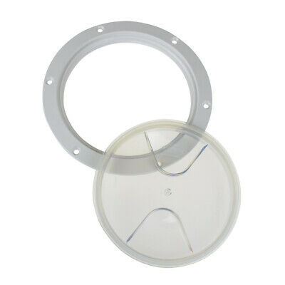 £7.88 • Buy Round Inspection Hatch Access Hole Transparent Clear 102mm 4 INCH Boat