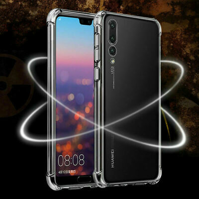 CLEAR Case For Huawei P20 P30 Pro Lite Mate Smart Cover Shockproof Silicone Gel • 1.99£