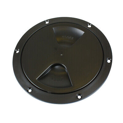 £8.99 • Buy Round Inspection Hatch Access Hole BLACK 152mm 6 INCH Boat
