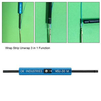 £13.22 • Buy WSU-30M 3 In 1 Single-Stranded Wire Wrapping Stripping Unwrapping Tool