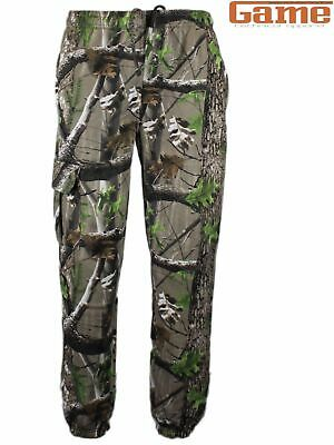 £19.95 • Buy Game Trek Camouflage Real Tree Hunting Joggers Jogging Bottoms Hunting Fishing