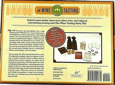 The Wine Tasting Party Kit : Everything You Need To Host A Fun And Easy... • 12$