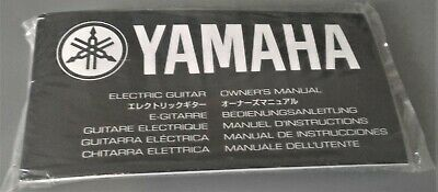 AU19.95 • Buy YAMAHA Electric Guitar Owners Manual ++ , STILL IN SEALED BAG