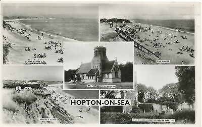 PC15693 Hopton On Sea. Multi View. RP. 1959 • 6.75£