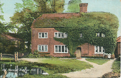 PC21209 Old House At Burgess Hill. A. H. Homewood • 6.75£