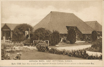 PC21865 Armada Barn. East Wittering. Sussex. Photochrom. No 75794 • 6.75£