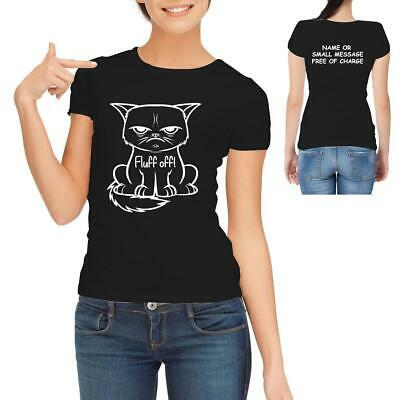 £11.95 • Buy Angry Cat Face Lucifer Occult Womens Ladies T-Shirt
