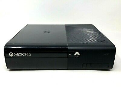 Microsoft Xbox 360 E Console Only No HD Black 1538 Tested Works Disc Tray Stuck • 49.99$