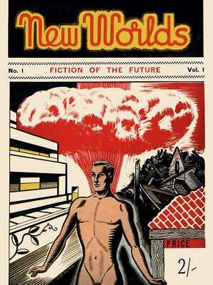 New Worlds Pulp Science Fiction Magazine Collection On DVD ROM • 5£