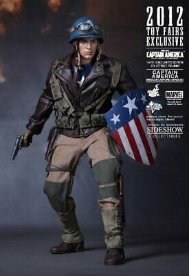 $ CDN1204.75 • Buy Hot Toys [Movie Masterpiece  Captain America / The First Avenger  1/6 Scale Figu