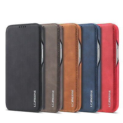 $ CDN10.57 • Buy Luxury Ultra Thin Wallet Flip Leather Case For IPhone 12 Pro Max Samsung S21