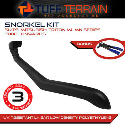 AU132.99 • Buy Snorkel Kit To Suit Mitsubishi Triton ML MN 2006 - Onwards 4WD Diesel + Bonus