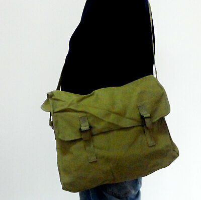 $23.99 • Buy Chinese PLA Army Military Field Bag Pack Surplus Canvas Messenger Bag