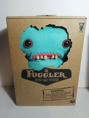 $ CDN15.86 • Buy Fuggler Funny Ugly Monster 9  Medium Plush Turquoise Mrs McGettricks Teeth NEW