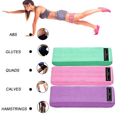 AU11.96 • Buy Resistance Bands Hip Circle Band Loop Glute Leg Squat Arms Fitness Exercise Yoga