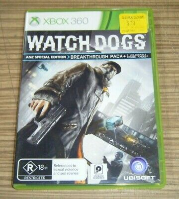 AU9.99 • Buy Xbox 360 Game - Watch Dogs