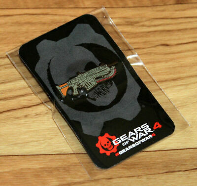 $45.94 • Buy Gears Of War 2 3 4 5 Rare Xbox One Collectible Lancer Pin Gamescom E3 2016